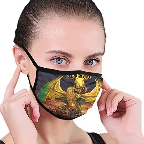Pekivide Ohrentyp Maske Schutzmaske Ronnie James Dio Poster Sturmhaube Maske