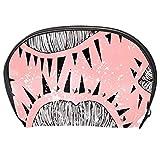 TIZORAX - Neceser de maquillaje para labios mordidos
