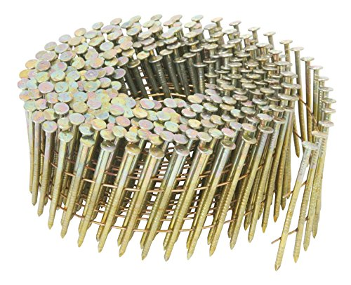 Metabo HPT 13334HPT 1-3/4 in. x 0.092 in. Ring Shank Electro-Galvanized Wire Coil Siding Nails for NV65AH | 3600 Count