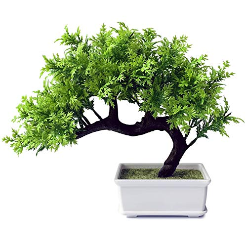 Living Room Decor Small Fake Plant Artificial Bonsai Tree for Home Office Hotel