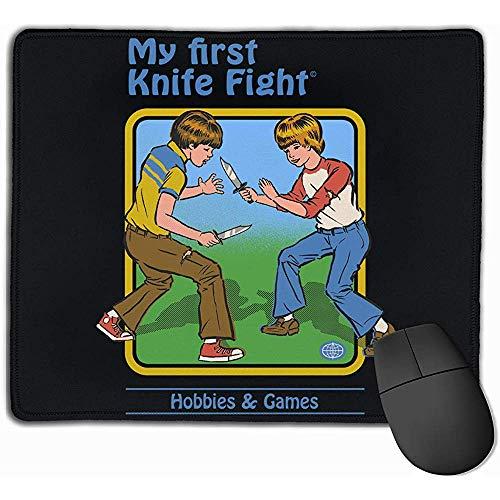 Muis Mat met Ontwerpen Mijn Eerste Mes Vecht Mousepad Gaming Mouse Pad Rubber Antislip