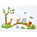 Tandi Wild Animals Wall Sticker