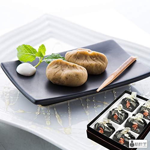 「新杵堂(SHINKINEDO)」The Premium栗きんとん6個 (母の日カード付)[母の日のプレゼント(ギフト)2021・お届け期間:5月7日〜9日]