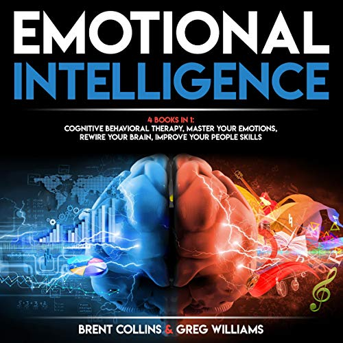 Emotional Intelligence: 4 Books in 1 audiobook cover art