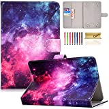 Universal Case for 7 Inch Tablet, Casii PU Leather Magnetic Cover [Cards Slots]