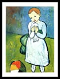 Germanposters Pablo Picasso Kind mit Taube Poster
