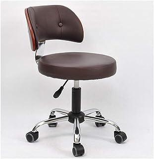 Silla de escritorio minimalista moderna sin brazos para ordenador, silla pequeña para el hogar, oficina, silla de escritorio pequeña giratoria, 6, L