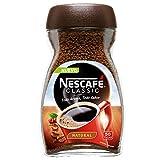 NESCAFÉ Café Classic Soluble Natural   Bote de cristal   Paquete de 100g de Café