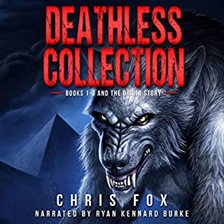 Deathless Collection: Books 1-3 and the Prequel Novella                   By:                                                                                                                                 Chris Fox                               Narrated by:                                                                                                                                 Ryan Kennard Burke                      Length: 40 hrs and 50 mins     1,445 ratings     Overall 4.4