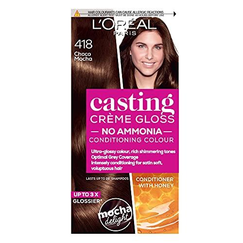 L'Oreal Paris Casting Crème Gloss, Ultra Glossy Hair Colour, Choco Mocha...