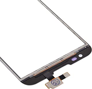 LENASH Pekskärmsdigitizer Del för LG G2 / VS980 / F320 / D800 / D801 / D803 (Svart) Skärmglasbyte (Color : White)