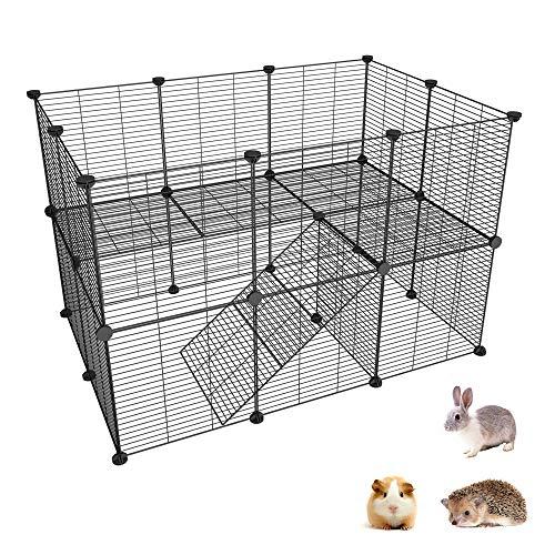 SIMPDIY recinto de Metal para Mascotas, recinto para pequeños Animales DIY /...