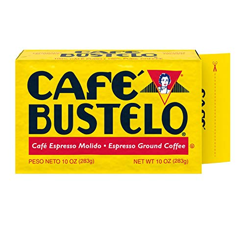 Cafe Bustelo Espresso Coffee, 10 Ounce (Pack of 24)
