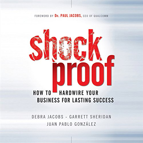 Shockproof audiobook cover art