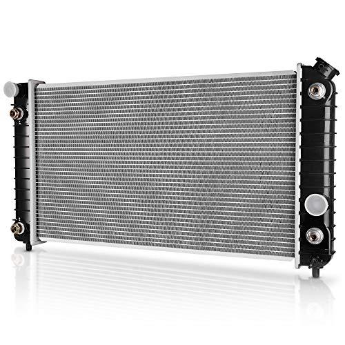 DWVO Complete Radiator Compatible with GMC Chevy Blazer S10 Jimmy Sonoma Hombre Bravada 4.3L V6 DWRD1012