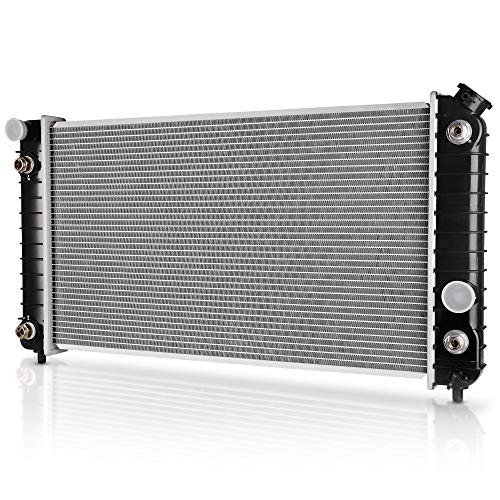 DWVO Complete Radiator Compatible with GMC Chevy Blazer S10 Jimmy Sonoma Hombre...
