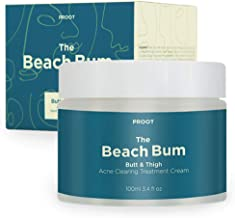 Butt & Thigh Acne Clearing Spot Treatment Cream. Clears Acne, Pimples, Ingrown Hairs, Blackheads, Zits, Razor Bumps and Da...