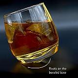 2er Set Whiskygläser | Wirbelnde Whiskey Tumbler | Perfektes Bar Geschenkset | Spirituosen, Whisky, Bourbon oder Scotch | M&W - 5