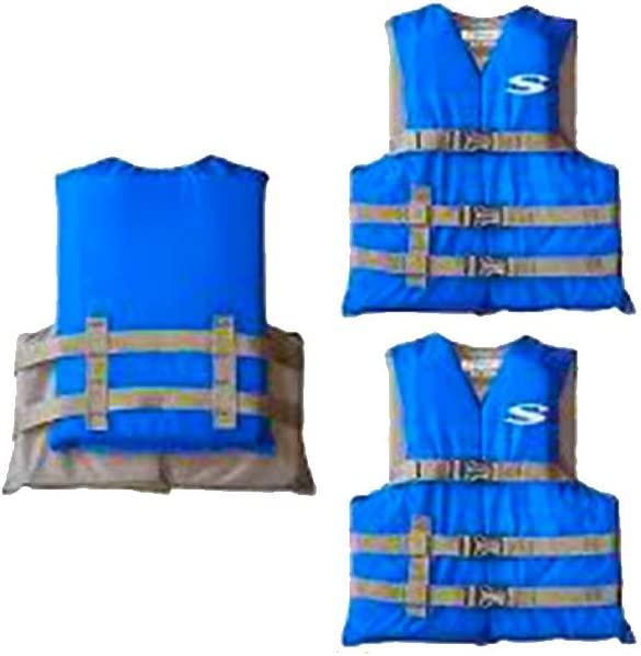 Stearns Youth Classic Series Life Jacket RED Youth Life Vest 50-90lb RED