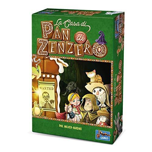 Asmodee-La Casa di Pan di Zenzero-Gioco da Tavolo Edizione in Italiano (8090 Italia), Colore