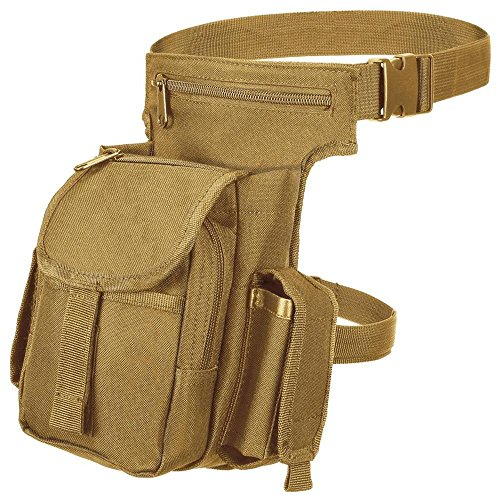 Black Snake® Multi Pack Damen Herren Outdoor Tasche Backpack Bauchtasche Hüfttasche - Coyote