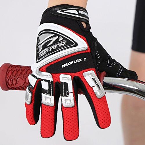 GP-Pro Neoflex 2 Cub Kinder Motorrad-Handschuhe - Offroad/Motocross - Rot - XXS