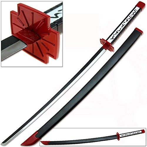 Murasame Katana Replica Anime Sword Version 2 Poison Strike Red & Black
