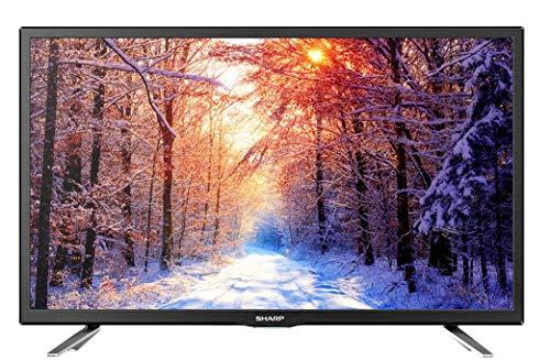 Sharp Aquos LC-24CHG6132E - 24' Smart TV HD Ready LED TV, Wi-Fi, DVB-T2/S2, 1366 x 768 Pixels, Nero, 2xHDMI 1xUSB, 2019