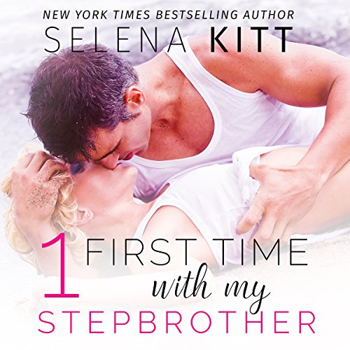 First Time with My Stepbrother Boxed Set audiobook cover art