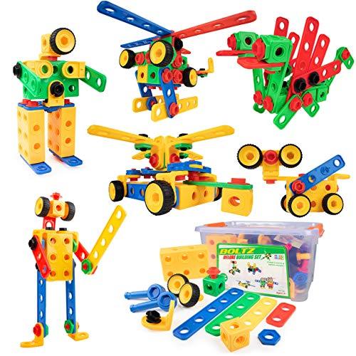 USA Toyz Boltz STEM Building Toys - 163...