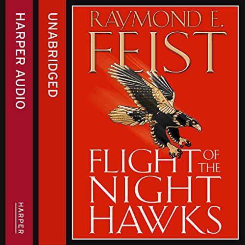 Flight of the Night Hawks audiobook cover art