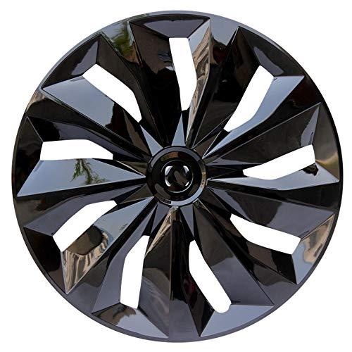 WNN-URG 4pcs Trim Compatible con Cubiertas de Ruedas de 16 Pulgadas Piezas de modificación de automóviles Rueda de colocación Gratuita URG (Color : Negro, Size : 16 Inch)