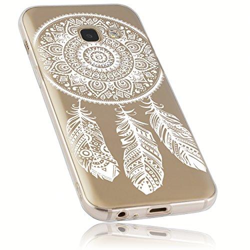 mumbi Hülle kompatibel mit Samsung Galaxy A3 2017 Handy Case Handyhülle mit Motiv Traumfänger, transparent