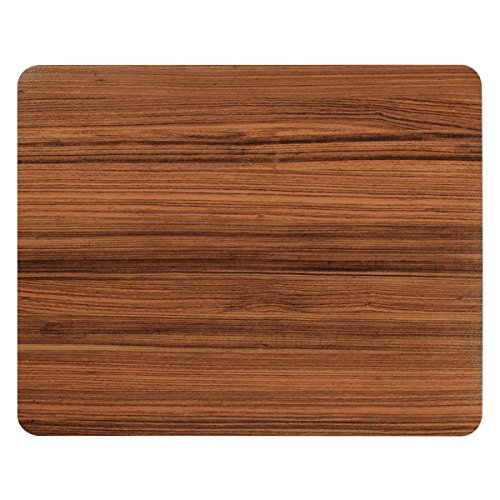 Basus Mouse Pad Synthetic Leather RectangleSlim Gaming Mouse Pad Anti Slip High Pixel Mousepad,Wood