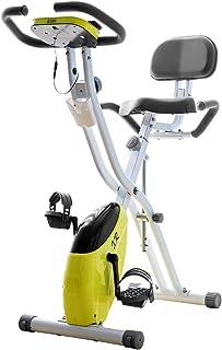フィットネスバイク エアロバイク 折りたたみ可能 長い時間乗っても劣化しない 負荷調整できる 背もたれフィットネスバイク マグネット式静音 …