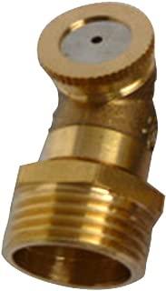 CLIUS 1/2 DN 15 Latón Rociador de nebulización agrícola de latón Sistema de riego de jardín Regadera para césped Rociador de pulverización para Enfriar el Polvo(como Muestra de Imagen)