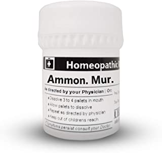 Ammonium MURIATICUM 200C Homeopathic Remedy in 16 Gram