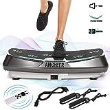 ANCHEER Plateforme Vibrante Fitness, Technologie de 3D Vibrations, 30 Niveaux de...