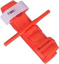 Eyocean Tourniquet, First Aid Medical Tourniquet, Rapid One Hand Combat Tourniquet,Pre-Hospital Emergency Hemorrhage Control, Tactical Tourniquet Essential for Military/Camping/Hunting/Hiking, Orange