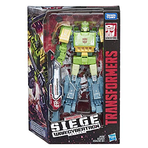 Transformers Toys Generations War for Cybertron Voyager Wfc-S38 Autobot Springer Action Figure - Siege Chapter - Adults
