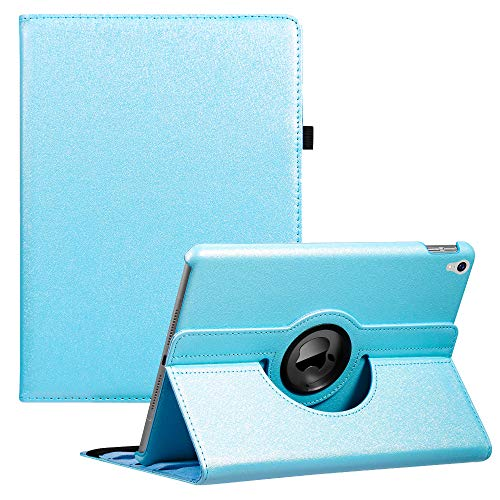 iPad Air 3 Case 2019 ipad 3rd Gen case,iPad Pro 10.5 Case(2017),360 Degree Rotating Stand Smart Case Protective Cover for New iPad 10.5 Inch 2019/2019 with Auto Sleep/Wake (Sky Blue)