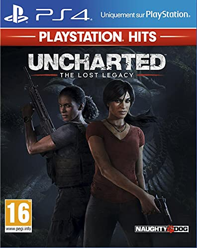 Uncharted : The Lost Legacy Hits pour PS4 [Edizione: Francia]