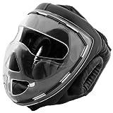 Bad Company Full Face Kopfschutz I Helm mit transparentem Visier I Gr. S - XL -