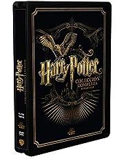 Pack Harry Potter - Colección Completa Golden Steelbook 2019 [DVD]