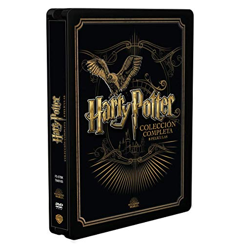 Pack Harry Potter Colección Completa - Edición Golden Steelbook [DVD]