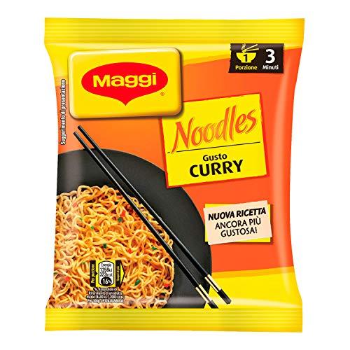 MAGGI NOODLES GUSTO CURRY Noodles Istantanei e Condimento al Gusto Curry 1 Porzione