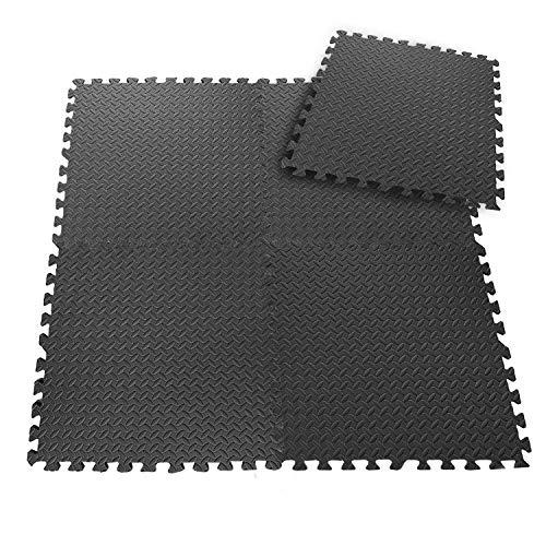 CCLIFE Esterilla Puzzle de Fitness 60x60x1cm...