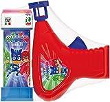 Dulcop 500173600, pistola a bolle di sapone, modello PJ Masks 60 ml, multicolore