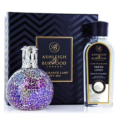 Ashleigh und Burwood Kleine Pearlecense mit Jasmin und Tuberose Duftlampe Geschenk-Set