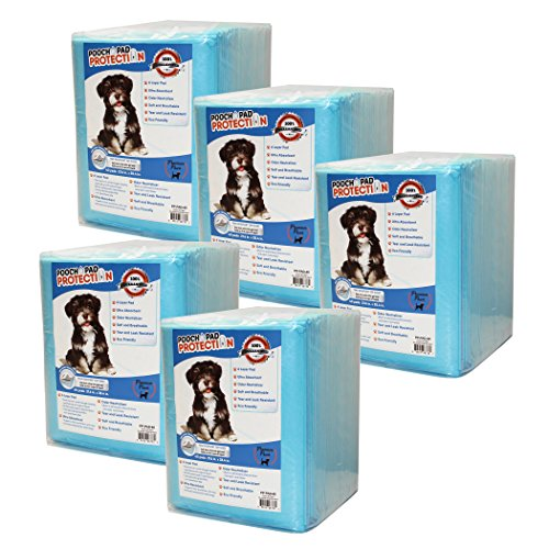 Best Saver Dog Training Pads 200 Count, XX-Large, Premium Quality Top Dog Wee Wee Pads. - Lab Tested - Excellent Results!! for Loyal & Prime Customers, Blue (PP-PAD-200-XL)